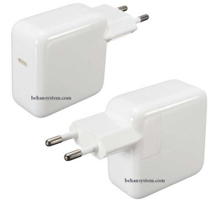 Apple Power Adapter A1718 61W USB-C TYPE C for MacBook Pro retina LATE 2016 MLL42 / A1708 EMC 2978