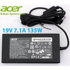 Acer Laptop Notebook Charger Adapter 19V 7.1A 135W 5.5x1.7mm