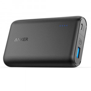 پاوربانک Anker مدل A1266 PowerCore Speed With Quick Charge 3.0 ظرفيت 10000 ميلی آمپر ساعت