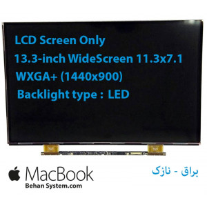 "LED Apple MacBook Air 13"" A1369 13.3 30 pin WideScreen (11.3""x7.1"") WQXGA+ (1440x900) Glossy LCD LSN133BT01"