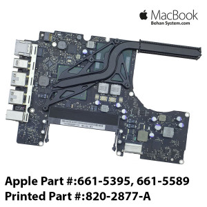 Logic Board MAINBOARD MOTHERBOARD Apple MacBook A1342 2.26GHz Intel Core 2 Duo P7550 820-2877-A