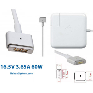 Apple Power Adapter 60W Magsafe 2 for MacBook Pro retina A1425 13 inch A1435