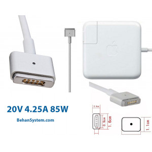 Apple Laptop Notebook MacBook Charger Adapter 20V 4.25A 85W Magsafe2 RETINA (5 pin magnet Magsafe2)