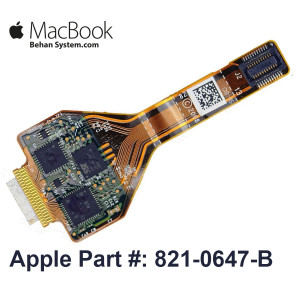 "Trackpad TouchPad Cable Apple MacBook Pro 13"" A1278 LATE 2008 821-0647-B EMC 2254 MacBook5,1"