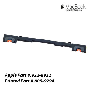 "Hard Drive Rear Bracket Apple MacBook Pro 17"" A1297 922-8932, 805-9294"