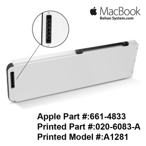 "Apple A1281 Battery MacBook Pro 15"" A1286 MB772 MB470 Notebook Laptop MacBookPro5,1 020-6083-A,661-4833"