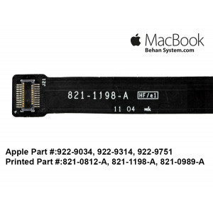 APPLE MacBook Pro 15 inch A1286 2009-2010-2011 821-0989-A 821-1198-A 821-0812-A 821-1492-A Hard Drive Cable