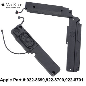 Apple MacBook Pro A1286 15 inch Laptop NOTEBOOK Speaker MacBookPro5,1 Late 2008 922-8700, 922-8701,922-8699