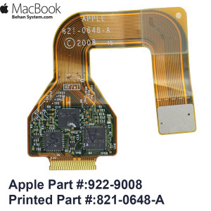 """Trackpad TouchPad Cable Apple MacBook Pro 15"""" A1286 MacBookPro5,1 Late 2008 821-0648-A, 922-9008"""