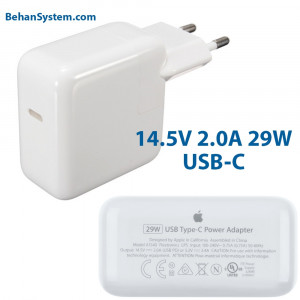 Apple Power Adapter 29W USB-C  type-c MacBook Retina 12 inch MLHC2 MacBook9,1 Early 2016 EMC 2991