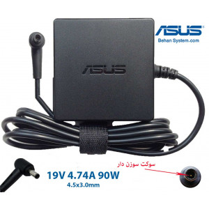 ASUS Laptop Notebook Charger Adapter 19V 4.74A 90W 4.5x3.0