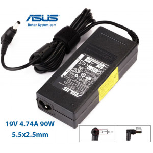 ASUS Laptop Notebook Charger Adapter 19V 4.74A 90W Normal 5.5x2.5
