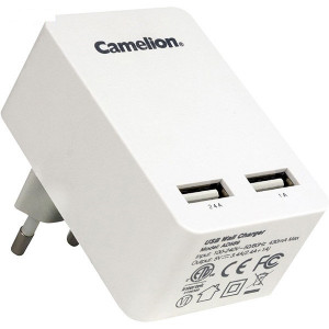 Camelion Dual USB 3.4A Wall Charger