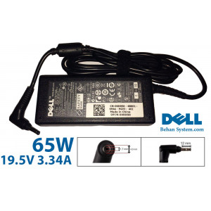 DELL Laptop Notebook Charger Adapter 19.5V 3.34A 65W Bullet Pin