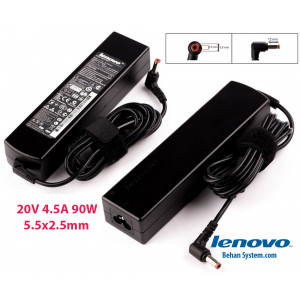 Lenovo Laptop Notebook Charger Adapter 20V 4.5A 90W 5.5x2.5