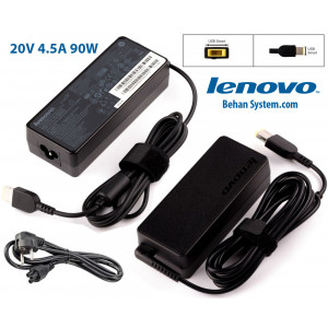 Lenovo Laptop Notebook Charger Adapter 20V 4.5A 90W square with pin