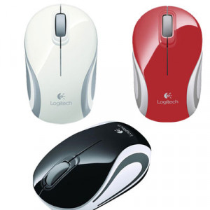 Logitech M187 Wireless Mouse Red