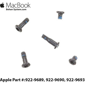 T5 Torx Battery Screws apple Macbook air 11 A1370 LAPTOP NOTEBOOK- 922-9689, 922-9690, 922-9693
