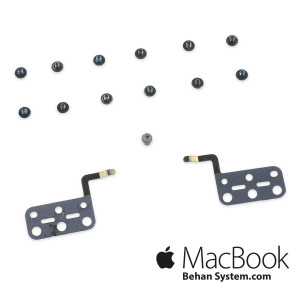 Trackpad Brackets and Screws apple Macbook air 13 A1466 - 922-9648