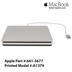 Apple USB SuperDrive A1379 Macbook air 13 A1466 LAPTOP NOTEBOOK- 661-5677
