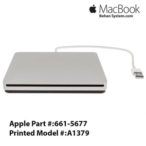 Apple USB SuperDrive A1379 Macbook Pro Retina 15 A1398 LAPTOP NOTEBOOK  661-5677