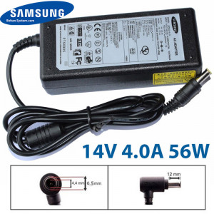 SAMSUNG Monitor LCD/LED Charger Adapter 14V 4.0A 56W