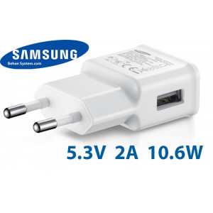 Samsung Mobile Charger Adapter 5.3V 2.0A 10W Travel Wall charger EP-TA10EWE