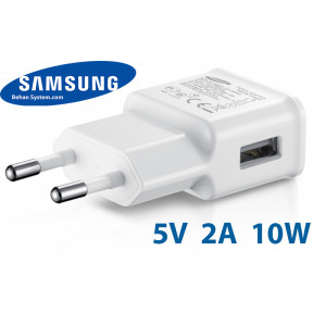 Samsung Mobile Charger Adapter 5V 2.0A 10W Travel Wall charger ETA-90EWE