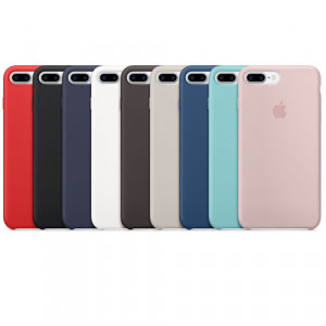 Apple Silicone Cover For iPhone 7 Plus (قاب) کاور سیلیکونی اصلی و اوریجینال آیفون سون پلاس
