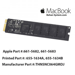 "SSD Solid State Drive Apple MacBook AIR 11"" A1370 661-5683"