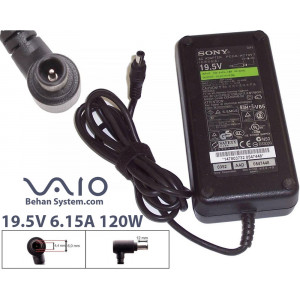 Sony Vaio Laptop Notebook Charger Adapter 19.5V 6.15A 120W