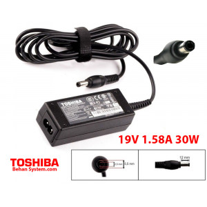 Toshiba Laptop Notebook Charger Adapter 19V 1.58A 30W PA3743E