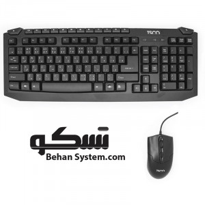 TSCO TKM 8054 Wired Keyboard and Mouse