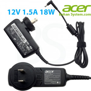 Acer Laptop Notebook Tablet Charger Adapter 12V 1.5A 18W 3.0x1.0mm