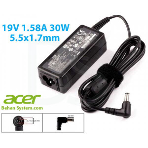 Acer Laptop Notebook Charger Adapter 19V 1.58A 30W 5.5x1.7mm