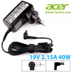 Acer Laptop Notebook Charger Adapter 19V 2.15A 40W 5.5x1.7mm