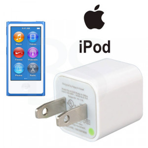 Apple Charger/Adapter For iPod nano شارژر اصلی اپل آیپاد نانو