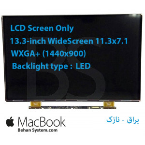 "LED MacBook 13.3 30 pin WideScreen (11.3""x7.1"") WQXGA+ (1440x900) Glossy LCD LSN133BT01 LTH133BT01 LP133WP1 TJA1 TJA7"