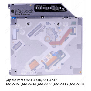 "Apple DVD-WRITER SATA Super Drive MacBook Pro 13"" A1278 661-4736, 661-4737, 661-5088, 661-5147, 661-5165, 661-5249, 661-5865"