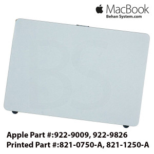 Apple MacBook Pro A1297 17 inch Laptop NOTEBOOK Trackpad - touchpad 821-0750-A, 821-1250-A