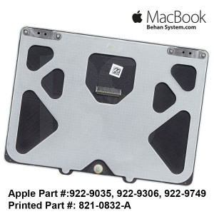 Apple MacBook Pro A1286 15 inch Laptop NOTEBOOK Trackpad - touchpad 821-0832-A