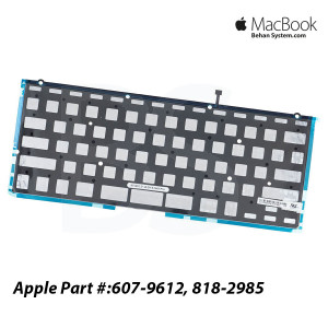 "Apple Macbook Pro Retina A1425 13"" Laptop Notebook Backlit Backlight Keyboard 607-9612,818-2985"