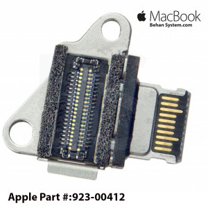 "USB-C Connector Board Port Apple MacBook Retina 12"" A1534 EARLY 2015 EMC 2746 923-00412"