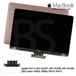 "Display Assembly LED Apple MacBook 12"" RETINA A1534 12.0 Glossy LCD 661-02241"