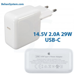 Apple Power Adapter 29W USB-C  type-c MacBook Retina 12 inch EMC