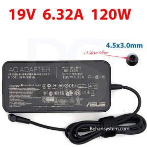 ASUS Laptop Notebook Charger Adapter 19V 6.32A 120W Normal 4.5x3.0