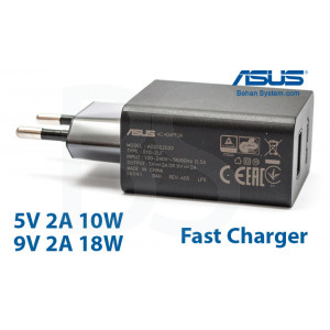 ASUS Tablet Quick Charger Adapter 9V 2.0A 18W (Fast)