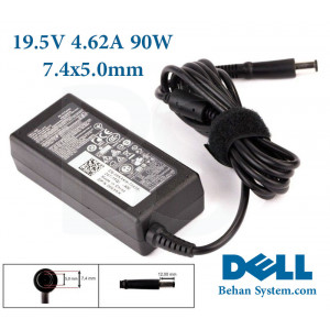DELL Laptop Notebook Charger Adapter 19.5V 4.62A 90W 7.4x5.0
