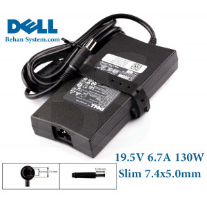 DELL Laptop Notebook Charger Adapter Slim 19.5V 6.7A 130W 7.4x5.0