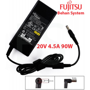 Fujitsu Laptop Notebook Charger Adapter 20V 4.5A 90W 5.5x2.5